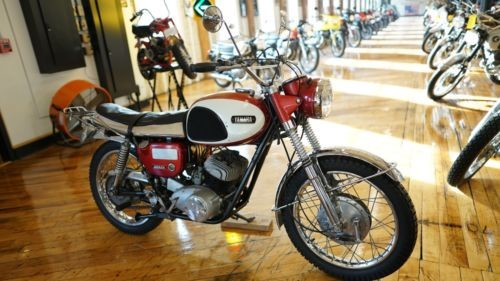 1965 Yamaha YM1 White - Red photo